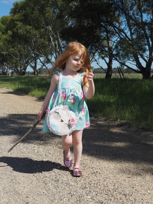 Out and about with 'Miss Blossom Owl'