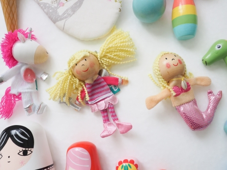 Finger puppets from 'Little Earth Nest'