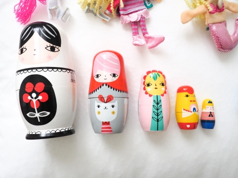 Nesting Dolls from 'Wiggles Piggles'